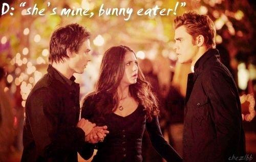 Hopefully, next season she will be...The Vampire Diaries