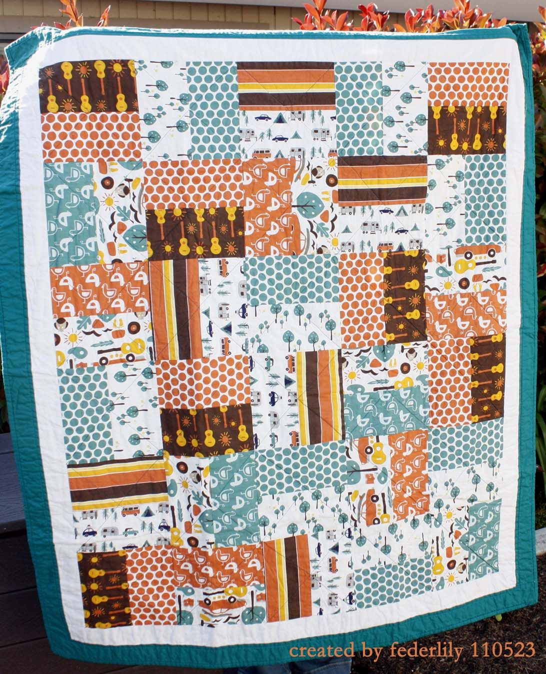 Beach Mod Quilt For Big Boy Room Quilt Ideas Pinterest Sewing