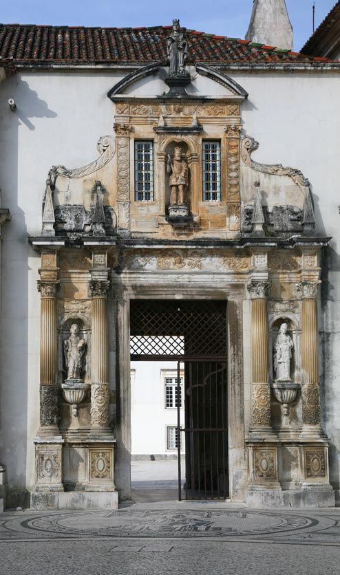 Porta Ferrea - Coimbra Old University