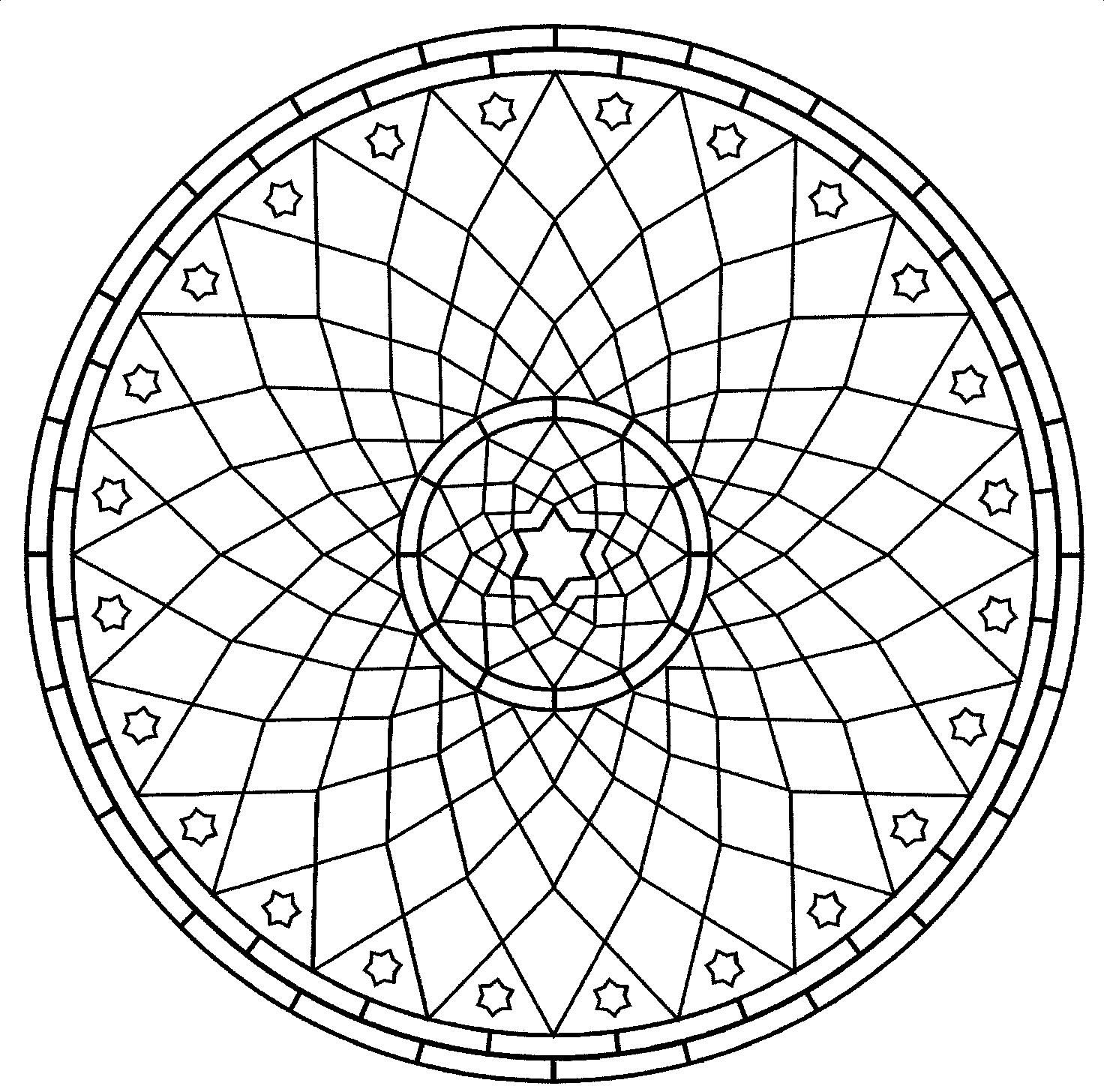 mandala and geometric coloring pages are great fun for all ages although some may be more complex for younger kids description from yrikibonpevpl