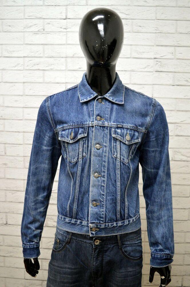 più recente efb6b 20997 Giubbino in Jeans GAS Uomo Taglia Size M Giubbotto Giacca ...