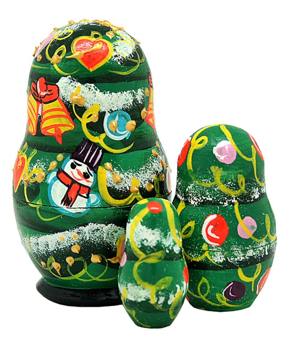 Take a look at this ThreePiece Christmas Tree Nesting