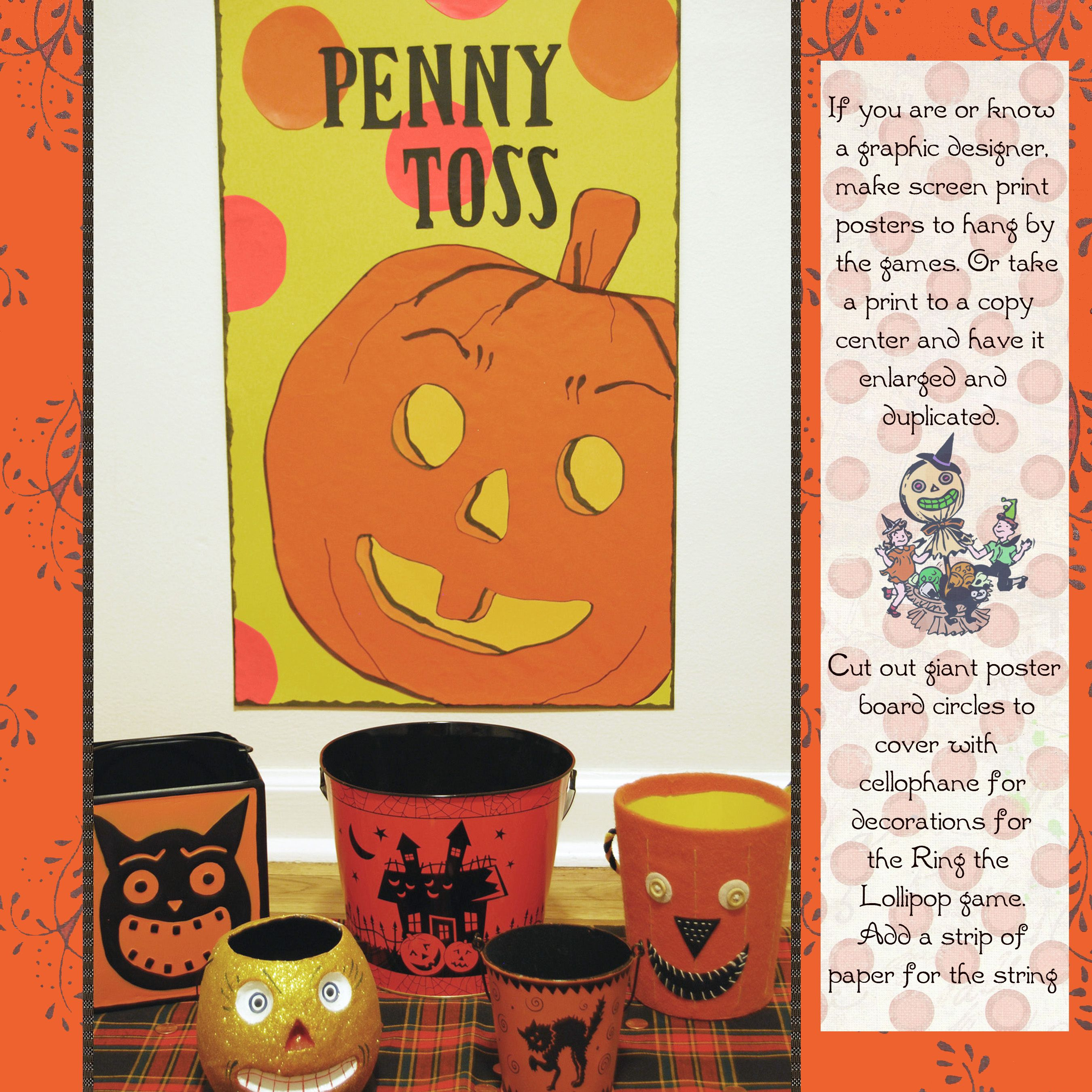 Penny toss halloween partycarnival game httpamazon carnival ideas fandeluxe Ebook collections
