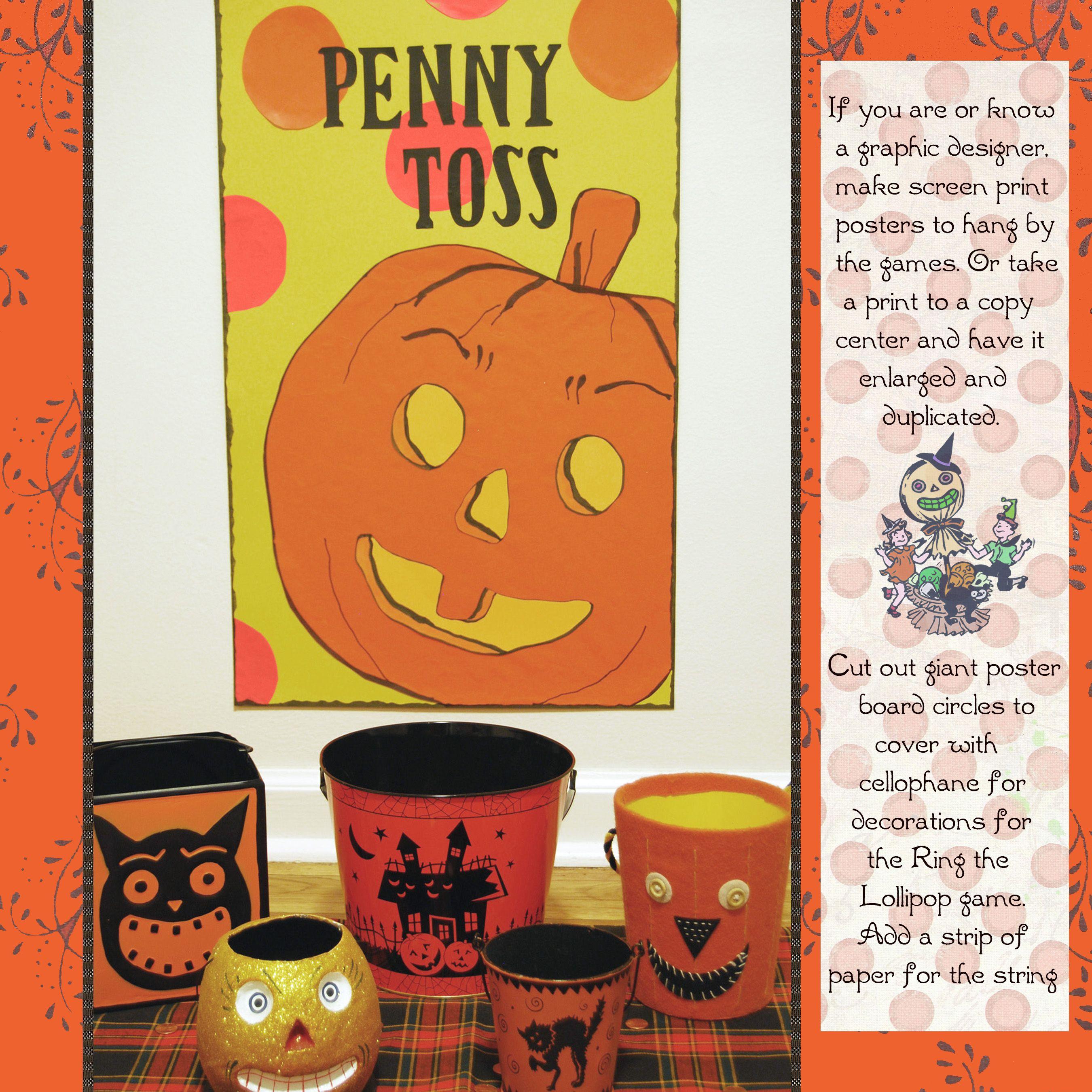 A harvest and halloween handbook halloween carnival party games a harvest and halloween handbook fandeluxe PDF