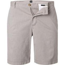 Photo of Boss men's shorts, cotton stretch, beige Hugo Boss