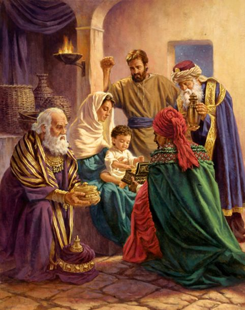 Visit Of The Wise Men