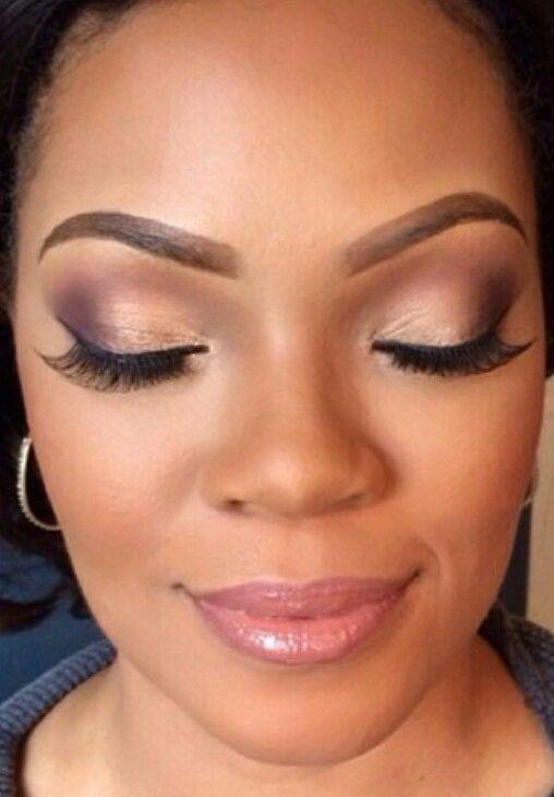 Nice Wedding Makeup African American Best Photos