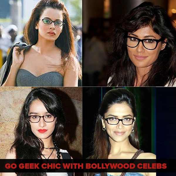 2ea9e706c56 Eyewear · Get the  geeky look like these  Bollywood celebrities with trendy   eyeframes from http