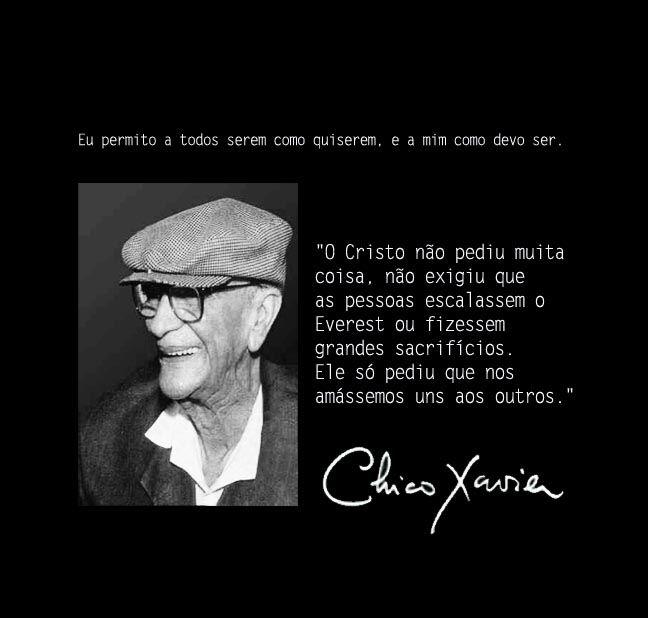 Blogaurimartini Chico Xavier Mensagens Pensamentos De Amor E