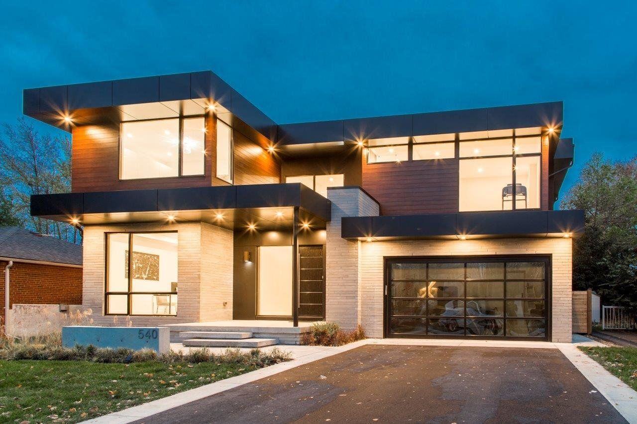 Modern Home With Exterior And Exterior Photo Of Open Concept Modern Living Beautiful Modern Homes Modern House Modern House Design