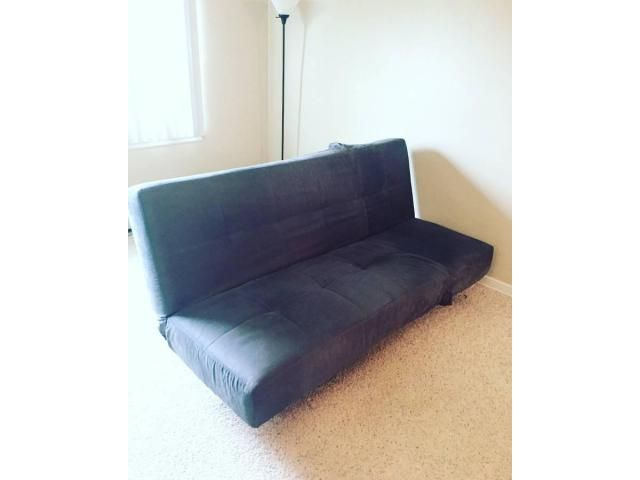 Used Convertible Futon Sofa Bed And Lounger Second Hand Furniture Two