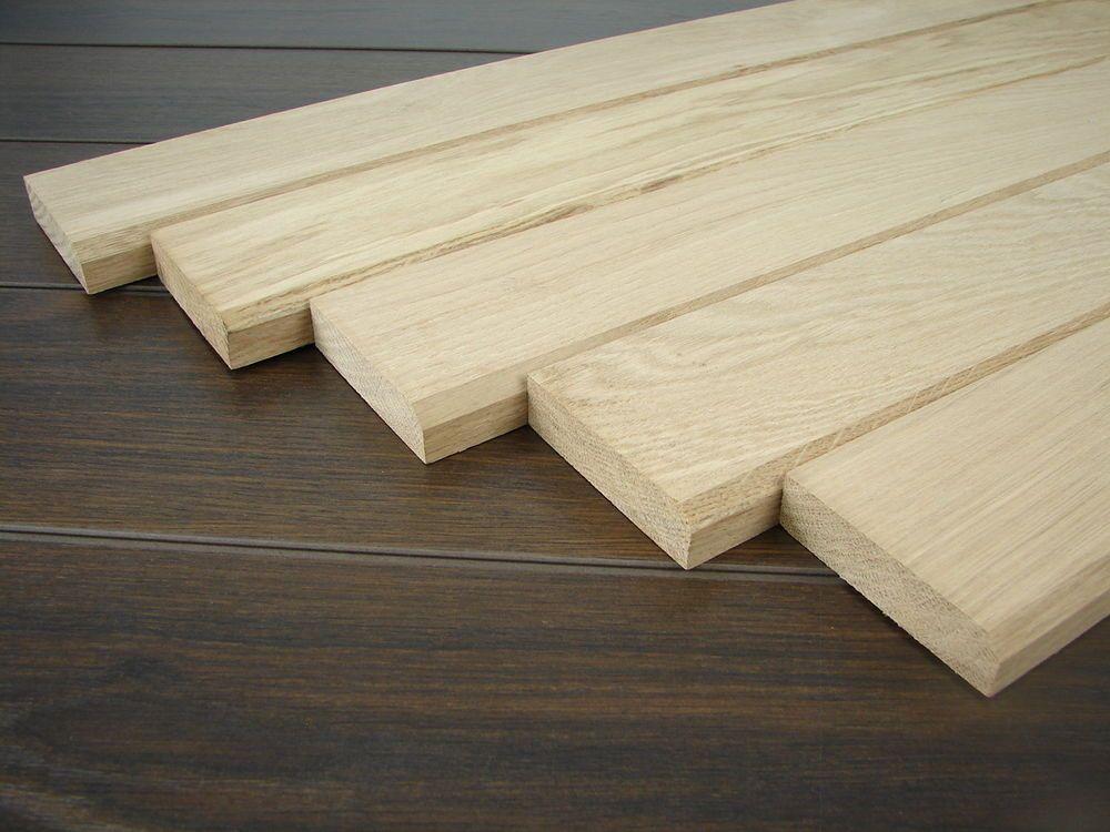 5 Turschwellen Eiche Roh Versch Langen Und Breiten Turstaffeln Tur Holzleisten Ebay Holzleisten Eiche Holz