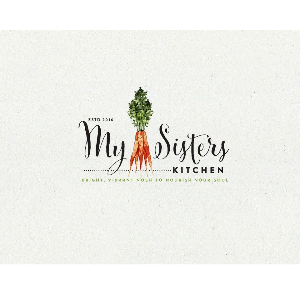 logo design for my sisters kitchen | restaurant logo design and