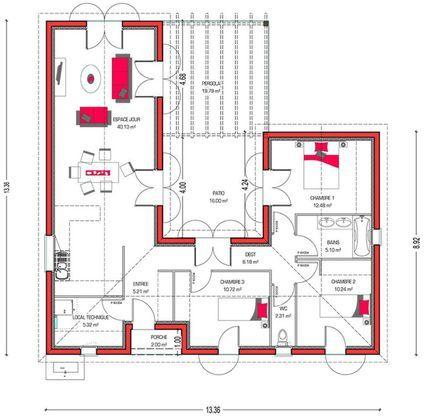 ouleurs Villa vous propose la Villa Mae, moderne, contemporaine - construire sa maison budget