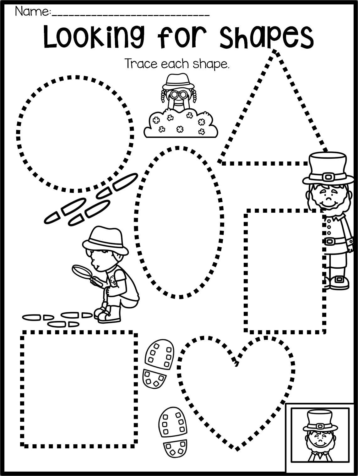St Patrick S Day Preschool Theme