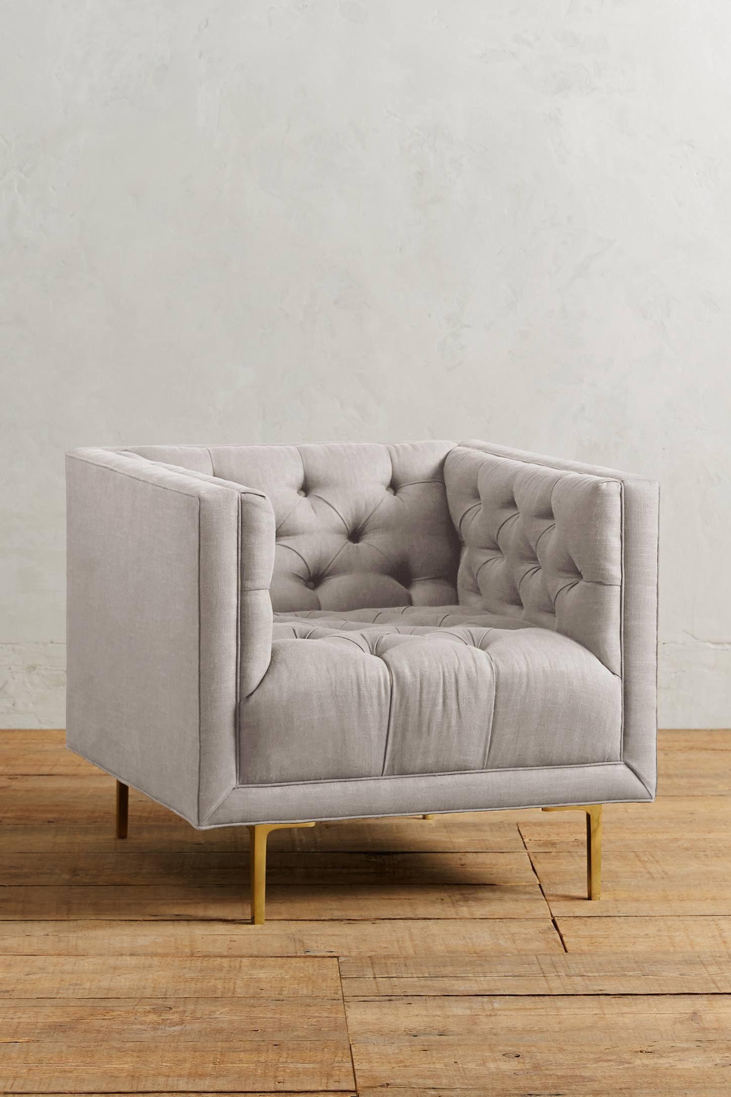 Belgian Linen Mina Chair Aubrey S Spanish Style 70s