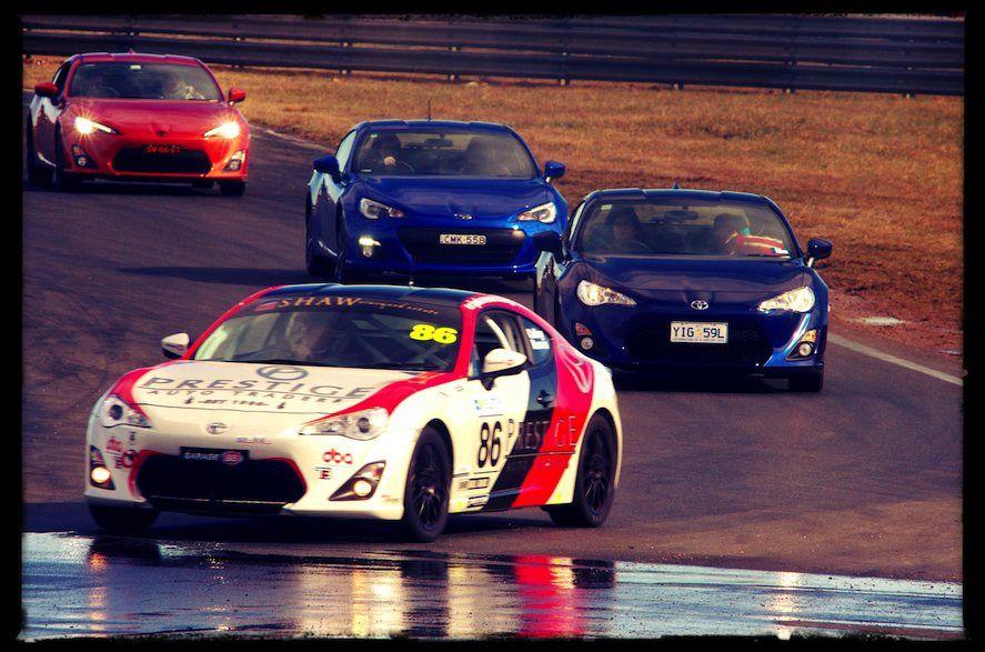 NSW 86 And BRZ Car Club Inc Parade Lap At Brz car