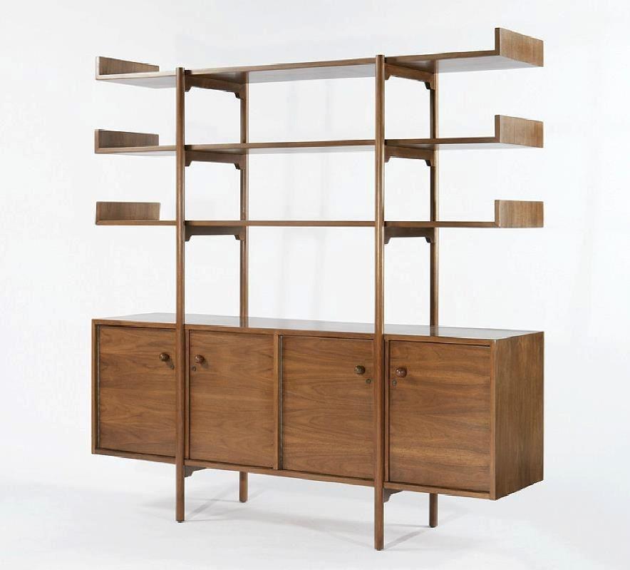 Mid century room divider and shelf Mid Century Pinterest