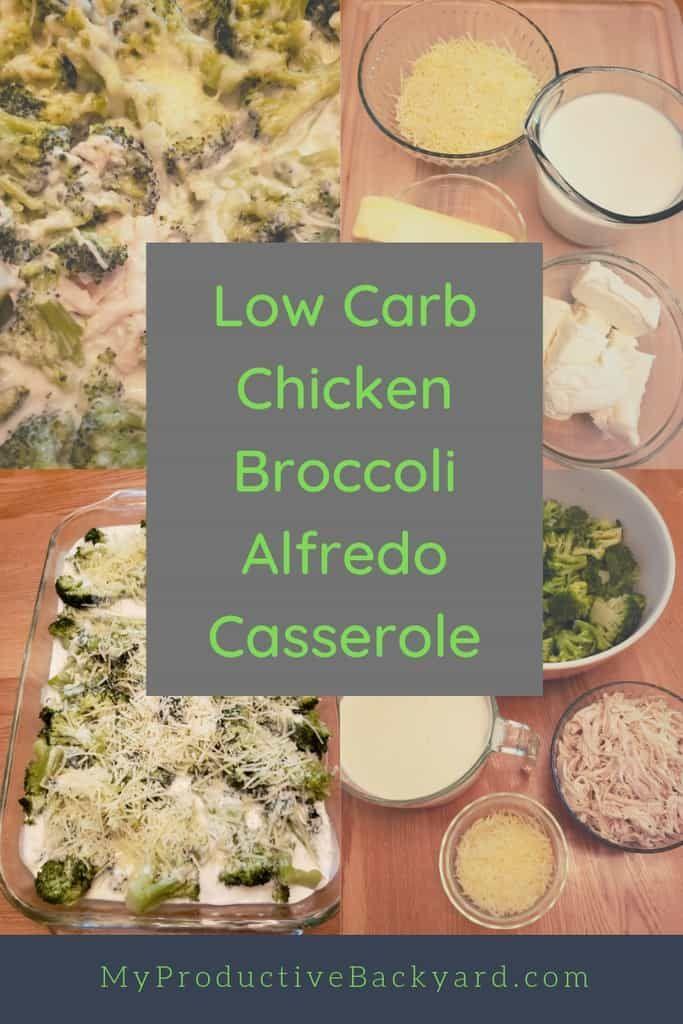 Low Carb Chicken Broccoli Alfredo Casserole Recipe Low Carb
