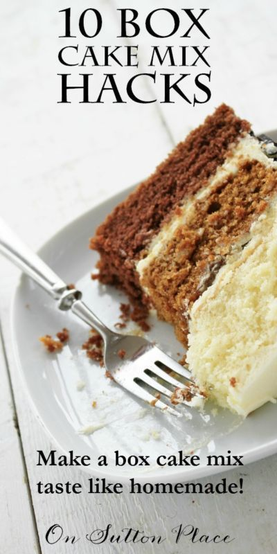 Box Cake Mix Hacks 10 Simple Ways To Make A Taste Homemade