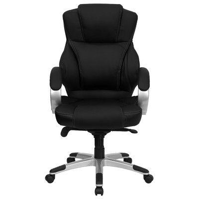 Latitude Run Winnols High Back Leather Executive Chair