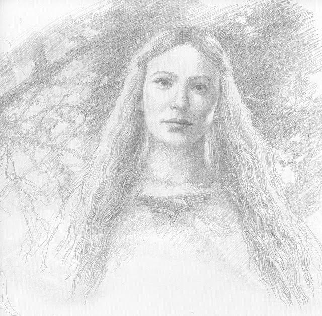 Galadriel | Lord of the Rings | Pinterest | Alan lee, Las ...