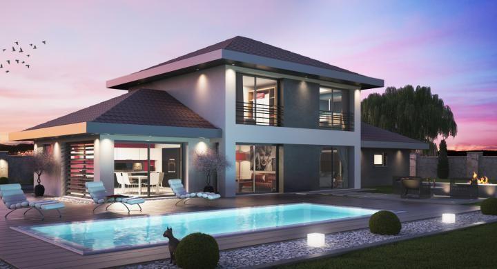 Réalisez avec Maisons Oxygène, votre maison contemporaine Sur
