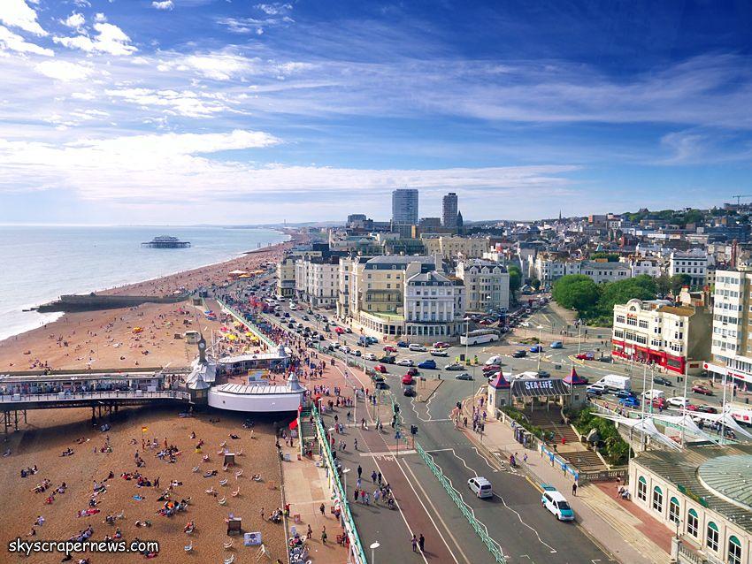Brighton from the Brighton Eye
