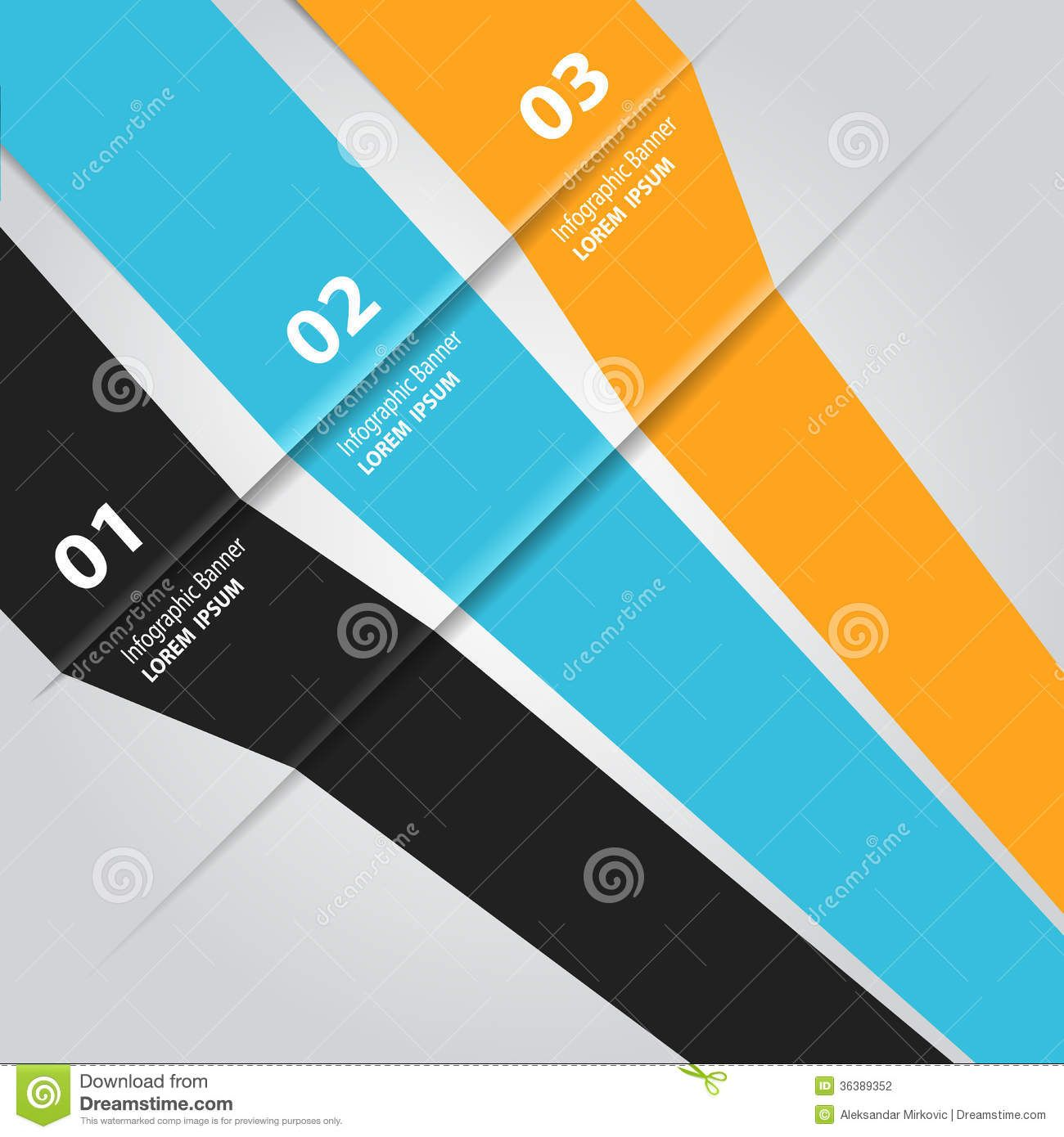 modern-infographic-template-info-graphic-banner-design-vector ...