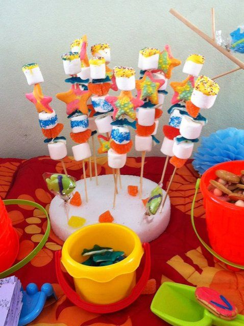 beach theme party graduation end of school party ideas beach party