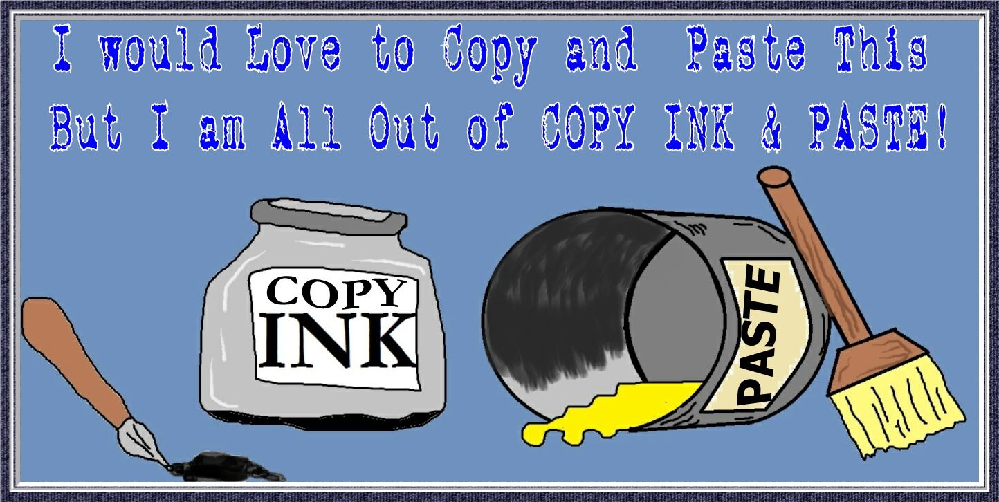 Copy And Paste Memes Past Ink