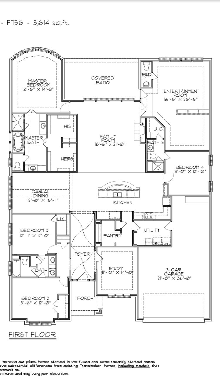 No Clue What The Exterior Looks Like But Interior Is Perfect Barndominium Floor Plans Best House Plans Dream House Plans