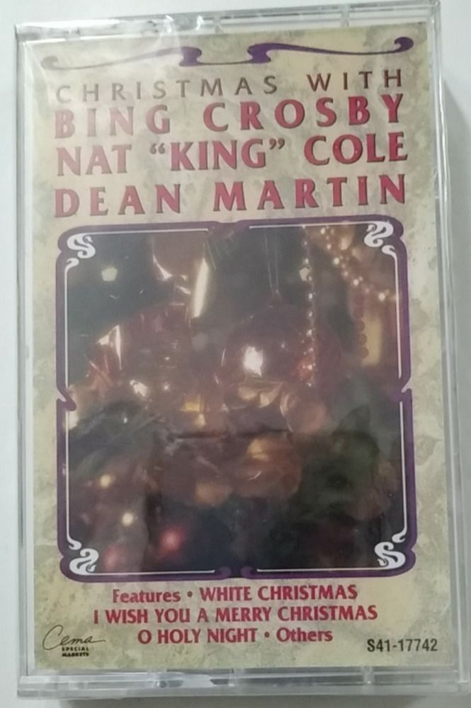 Details about Christmas with Bing Crosby, Nat King Cole  Dean