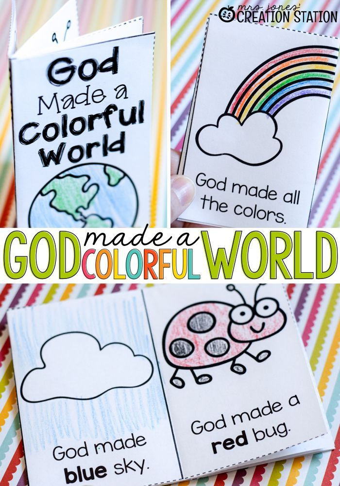 FREE Printable Book for Teaching Colors | Caminando con jesus ...