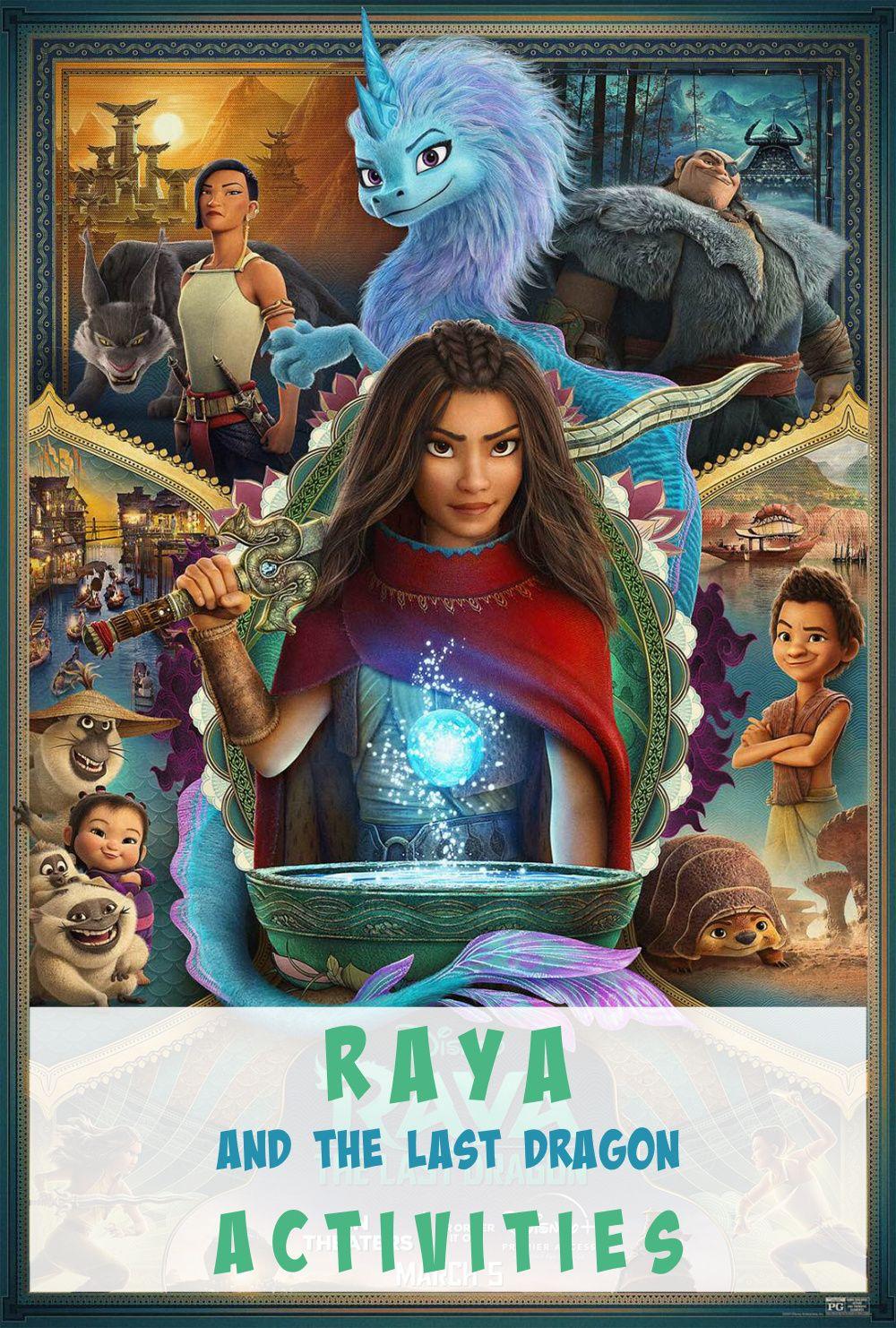 Raya and the Last Dragon Activities ⋆ Exploring Domesticity