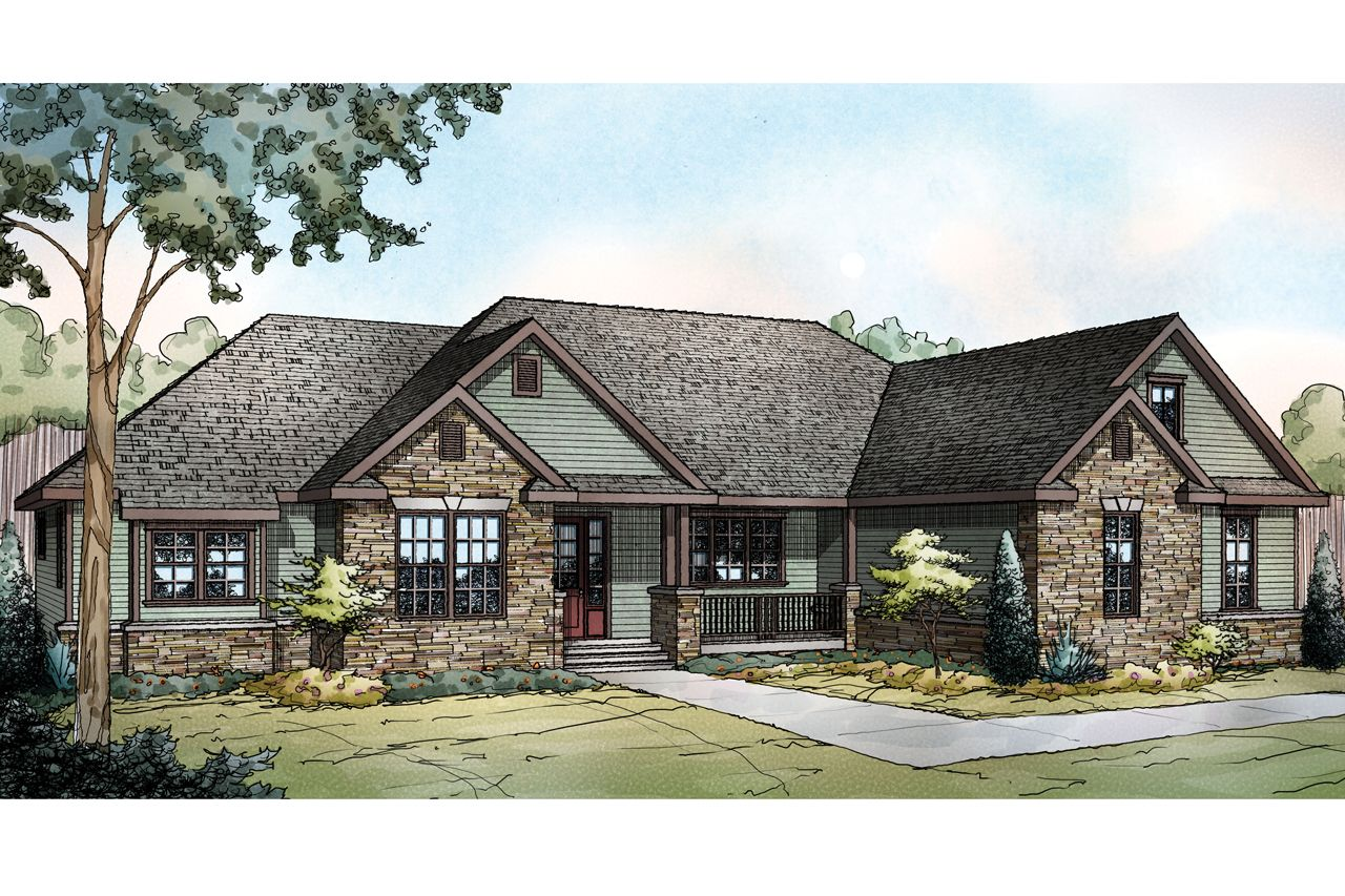 Comfortable Ranch Style Barndominium for Small Families ... on log cabin plan book, chicken coop plan book, ranch house art, ranch house christmas,