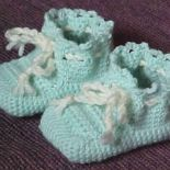 Virkkaa vauvan tossut - Crochet baby booties