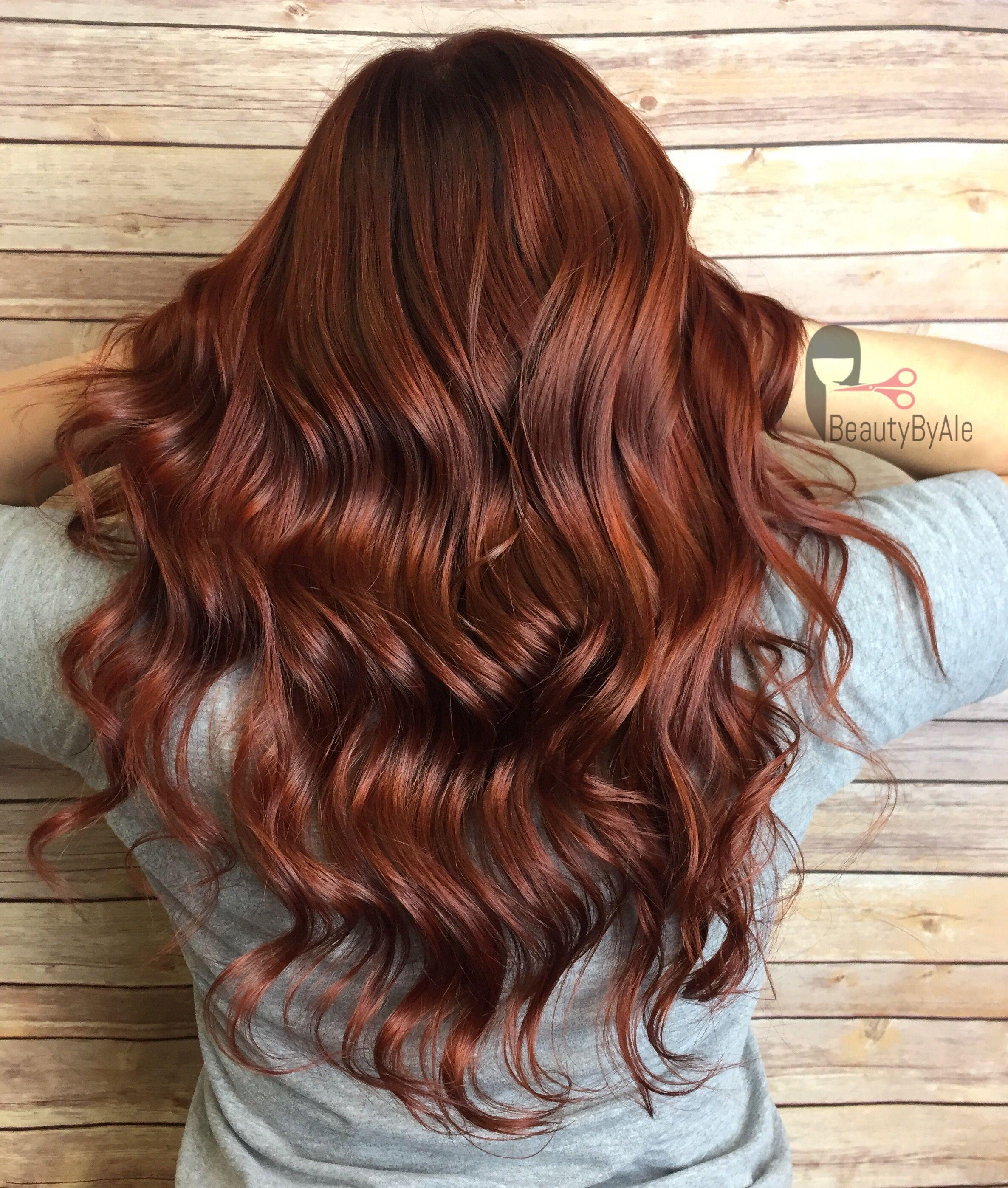dark copper hair hair work pinterest friseur nageldesign und n gel. Black Bedroom Furniture Sets. Home Design Ideas