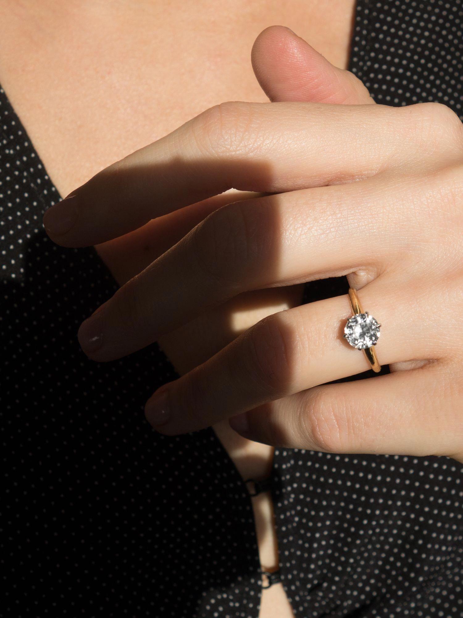 95 Carat Vintage Tiffany Co Engagement Ring Solitaireweddingring Tiffany Engagement Ring Tiffany Wedding Rings Wedding Rings Vintage
