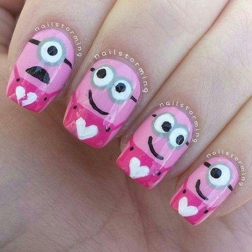 Love nail designs download love pink minion nail art for short love nail designs download love pink minion nail art for short nails prinsesfo Images