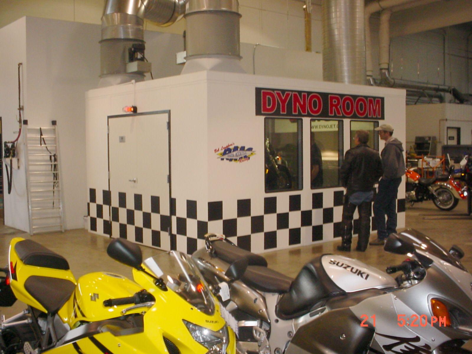 Motorcycle Test Room Room Motorcycle Stationary Bike