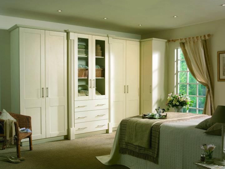 ivory #pvc #wardrobes #design #living #bedroom #colours #painted ...