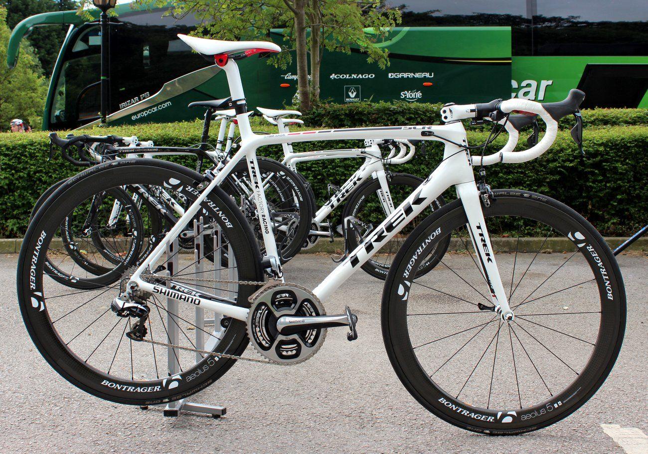 Das Emonda wird unter anderem von Fränk Schleck auf der Tour de ...
