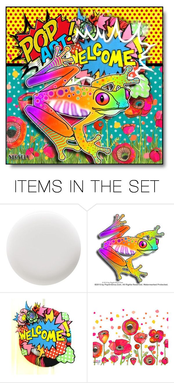 """""""Fun With POP ART - Contest"""" by necyluv ❤ liked on Polyvore featuring art"""