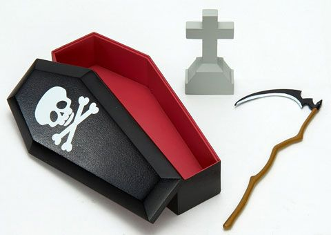 AmiAmi [Character & Hobby Shop] | Pose Skeleton Accessory - Death Reaper Set(Released)