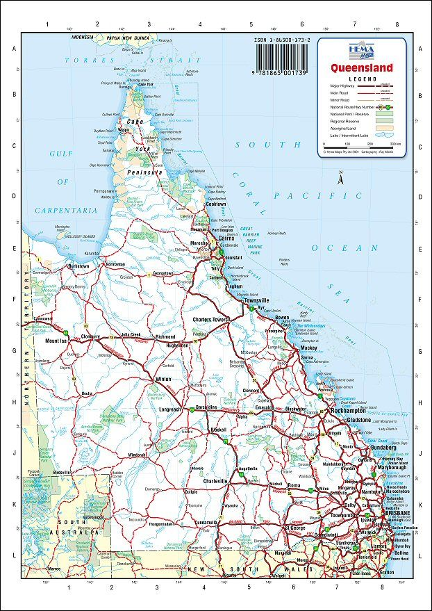 the state of queensland australia