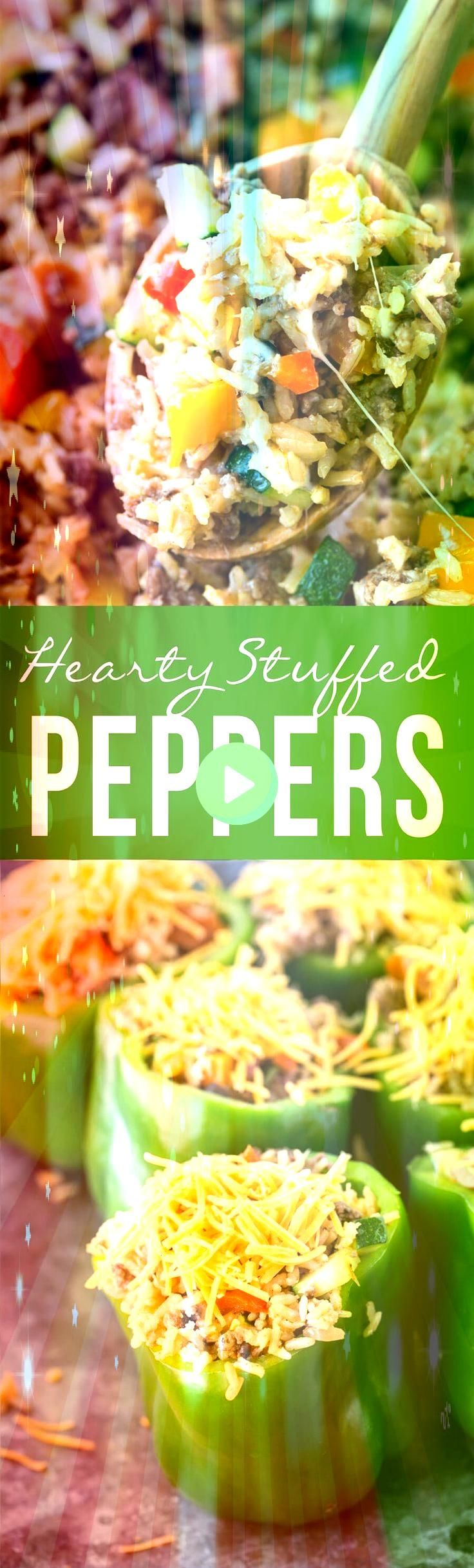 Stuffed Peppers Omit rice Maybe add chopped tomatoes to stuffing mixt  Recipes  Quinoa Hearty Stuffed Peppers Omit rice Maybe add chopped tomatoes to stuffing mixt  Recip...