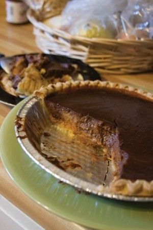 Nutella Pumpkin Pie only the greatest combo ever..