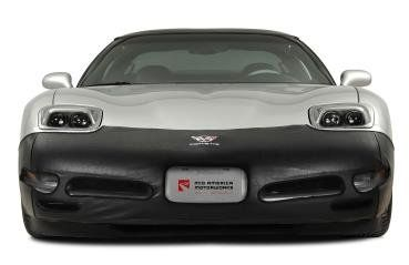 C5 Corvette Front Mask With C5 Logo Corvette Car Parts And Accessories Black Vinyl