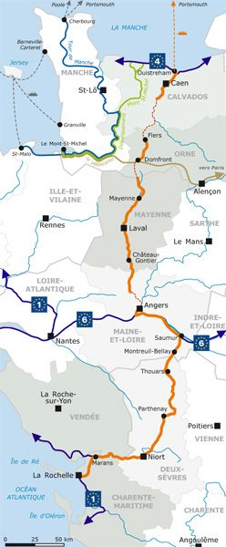 La Mayenne Presentation De La Veloroute Velo Francette Velo Francette Velo Voyage Tourisme
